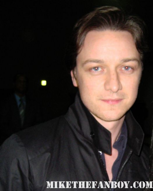 james mcavoy penelope signed autograph wanted rare x men first class hot sexy atonement