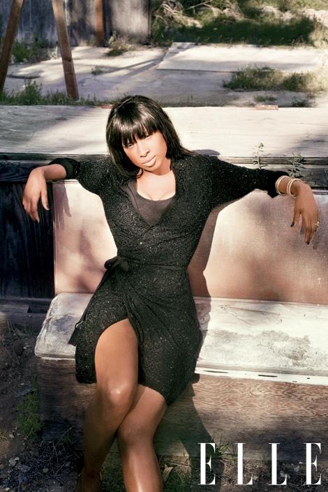 jennifer hudson rare dreamgirls american idol star academy award winner elle women in music 2011 may issue hot magazine rare photshoot