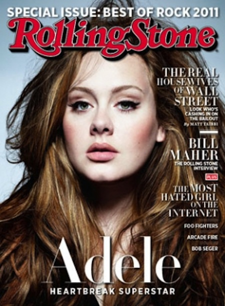 adele on the may 2011 issue of rolling stone magazine rolling in the deep sexy rare chasing pavements hot magazine cover rare