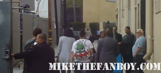 jessie j who are you signed autograph talk show jimmy kimmel rare arriving do it like a dude