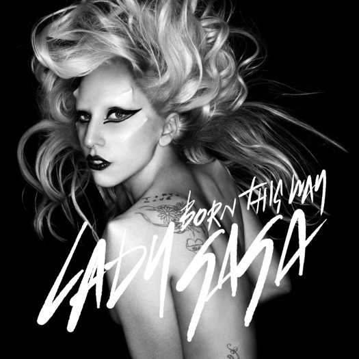 lady gaga signed autograph album artwork rare born this way rare cd single monster