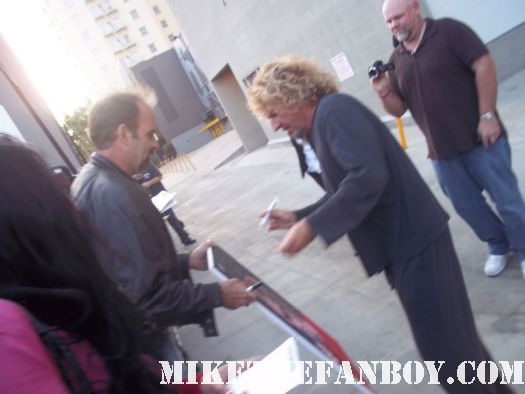 sammy hagar signed autograph fan friendly right now promo cd talk show taping rare painting