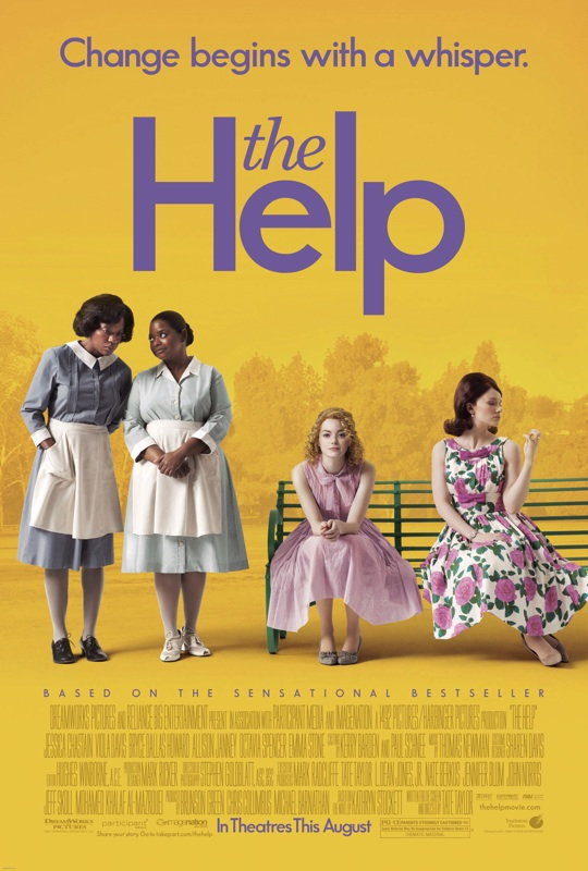 the help one sheet movie poster emma stone viola davis bryce dallas howard movie poster Mike Vogel