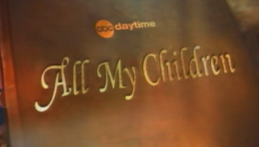 all my children logo soap opera rare abc daytime cancelled abc the eats the crunch