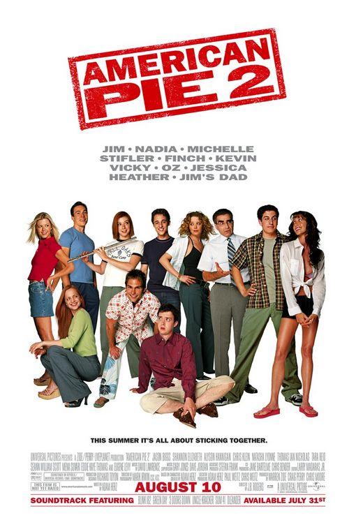 american pie 2 one sheet movie poster rare sean william scott stifler alyson hannigan michelle tara reid chris klein