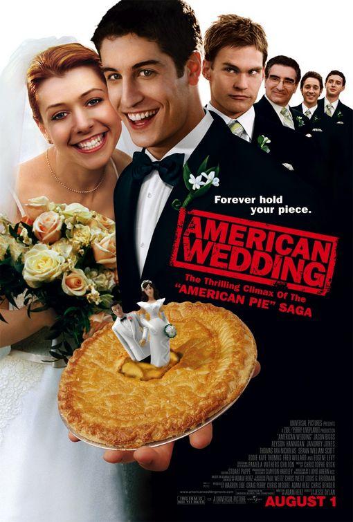 american wedding rare promo poster one sheet jason biggs alyson hannigan sean william scott michelle willow buffy stifler hot rare chris klein