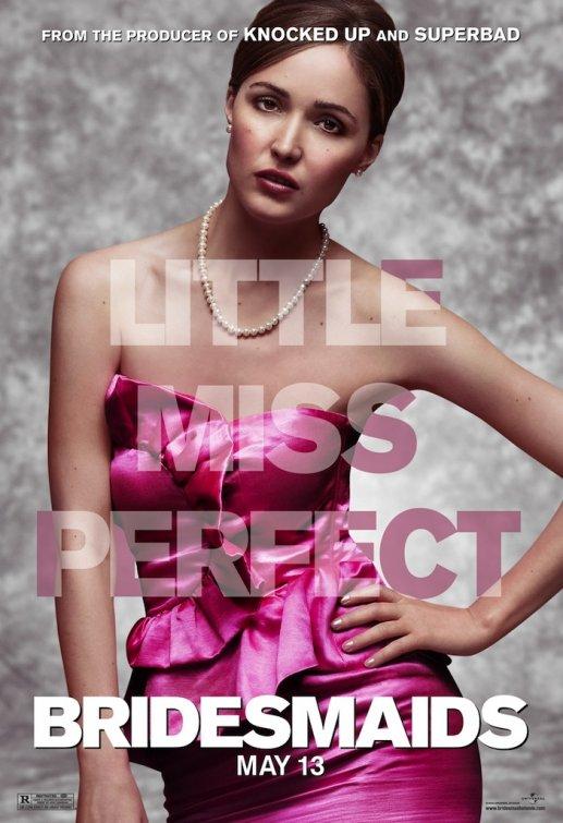 rose byrne promo individual mini poster for bridesmaids x men first class damages glenn close rare hot kirsten wiig maya rudolph hot sexy damn