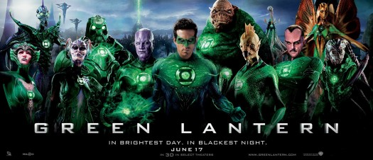 ryan reynolds hot sexy green lantern rare promo banner hot rare with lantern fighting gun sinestro rare michael clark duncan Abin Sur Kilowog Tomar-Re
