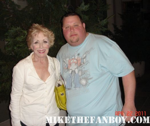 holland taylor fan photo legally blonde two and a half men signed autograph bosom buddies the powers that be sitcom rare john forsythe