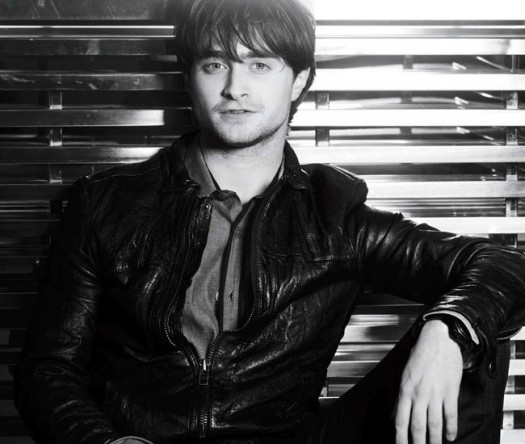 Daniel Radcliffe sexy hot harry potter photo shoot gotham magazine how to succeed rare leather naked sexy chest short