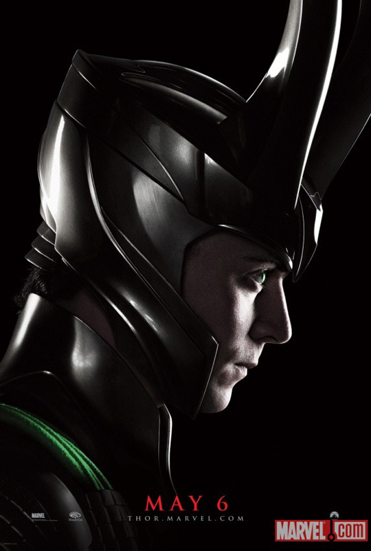 loki thor promo mini poster marvel hot sexy tom hiddlestone evil bad guy kat dennings rare mini anthony hopkins comic con wondercon