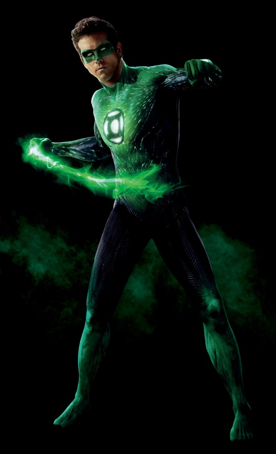ryan reynolds green lantern hal jordan suit close up rare promo still press crazy feet hot proposal sexy muscle