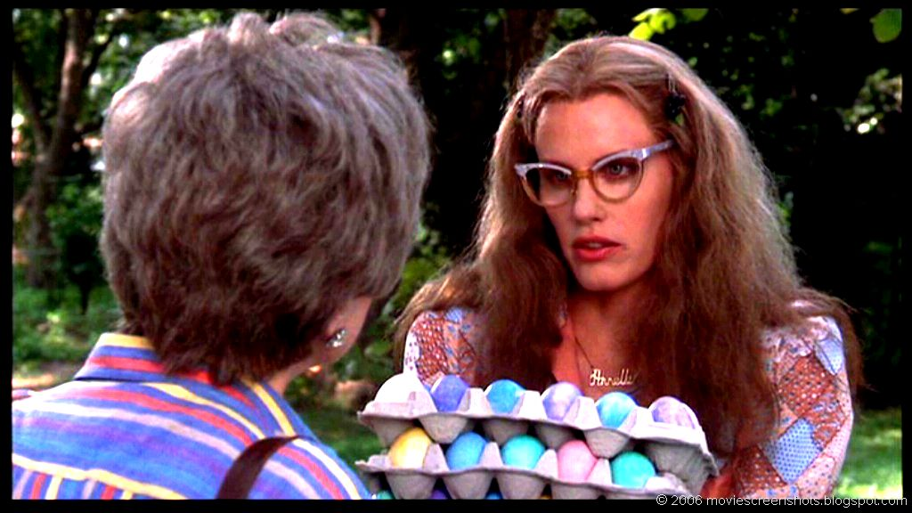 steel magnolias easter egg hunt happy easter daryl hannah shirley maclaine rare promo press still fun quotes