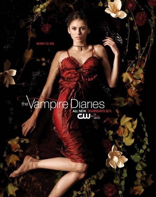 the vampire diaries Ian Somerhalder nina dobrev individual promo mini poster paul wesley hot sexy rare promo CW promotional