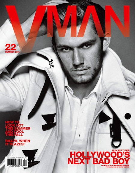Alex Pettyfer vman magazine rare sexy hot sweat shirtless abs damn fine i am number four beastly wow chest hair