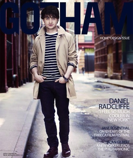 daniel radcliffe sexy hot gotham magazine photoshoot rare photo shoot may 2011 rare stubble harry potter final movie