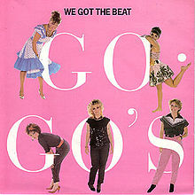 go-go's beauty and the beat album cover rare promo hot sexy damn fine rare promo belinda carlisle gina shock kathy valentine