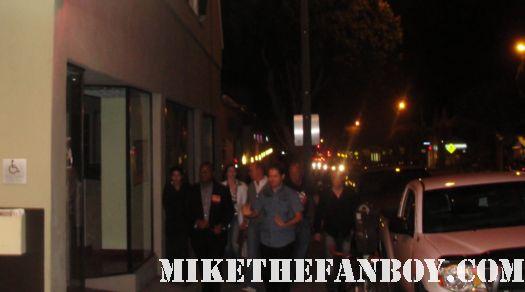 michael keaton arriving at a q and a aero theatre santa monica signed autograph beetlejuice batman batman returns tim burton multiplicity the dream team rare promo hot mini poster promo rare gung ho Mr. Mom