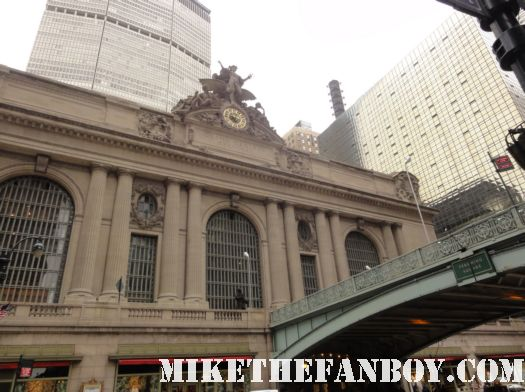 i am legend new york city filming location will smith promo on location shoot grand central