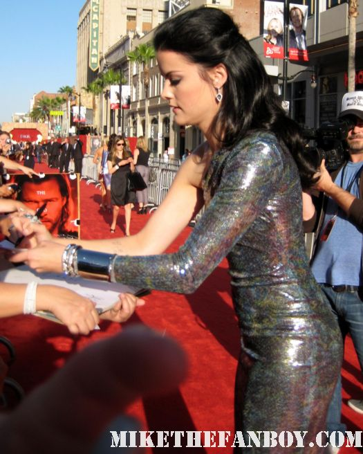 jaimie alexander sif in thor signed autograph signature rare hot sexy photo shoot thor premiere los angeles nurse jackie rare promo