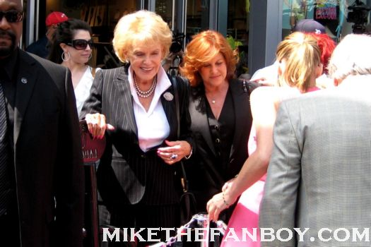 sharon stone and jane morgan at jane morgans walk of fame star ceremony on hollywood blvd. rare promo hot sexy total recall