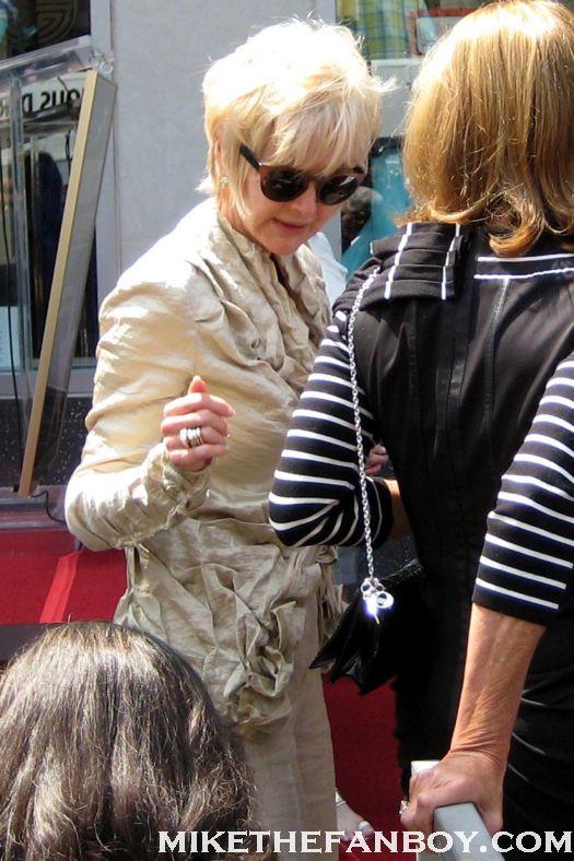 linda bloodworth designing women at jane morgan's walk of fame star ceremony 2011 rare promo