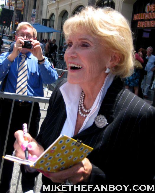 Jane Morgan's Walk of Fame ceremony signed autograph pop singer legend hollywood blvd rare promo