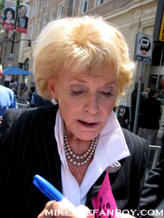 jane morgan signing autographs at her star ceremony on the walk of fame in hollywood