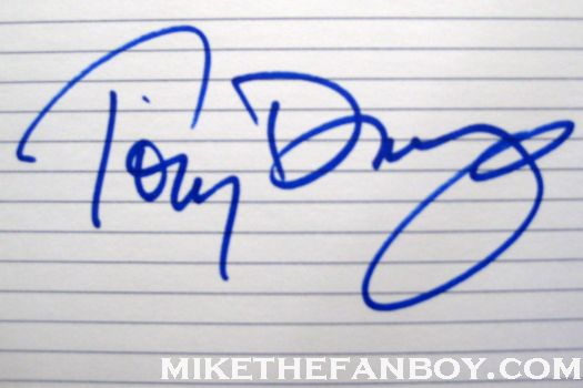 tony danza signed autograph who's the boss taxi index card photo jane morgan's walk of fame star ceremony promo taxi hot sexy