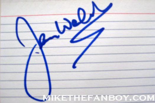 Jerry Weintraub signing autographs jane morgan's walk of fame star ceremony promo rare
