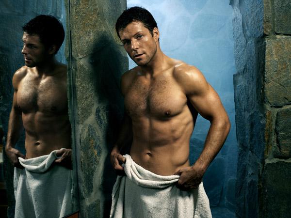 jamie bamber shirtless sexy hot naked battlestar galactice rare promo hot sexy lee apolo adama