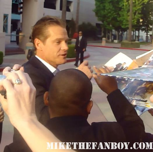 brian van holt cougar town star sexy hot signing autographs shirtless event north hollywood rare promo fine