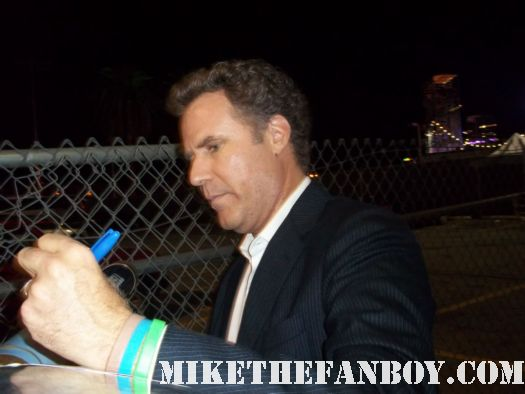 will ferrell signed autograph rare old school anchorman promo blades of glory saturday night live superstar the other guys funny rare appearance worst autograph list