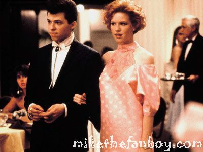 pretty in pink rare press still promo john hughes molly ringwald jon cryer prom dress prom scene press still hot