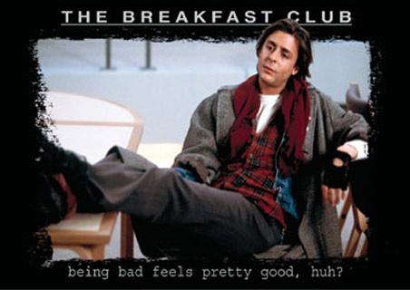 The Breakfast Club cast photo john bender judd nelson rare promo wallpaper press photo john hughes classic signed autograph pretty in pinky