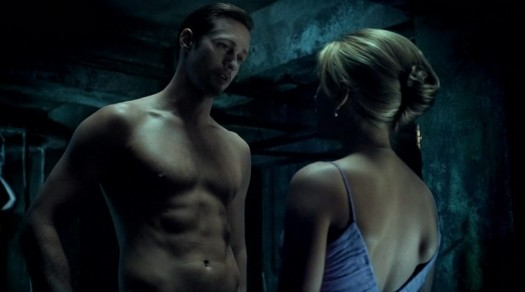 Alexander Skarsgard interview magazine june 2011 rare sexy magazine cover hot sexy rare promo shirtless stubble wet promo damn fine true blood eric northman hot and sexy promo sweaty abs workout muscle pecs sweedish hot blonde vampire true blood season 4 rare anna paquin