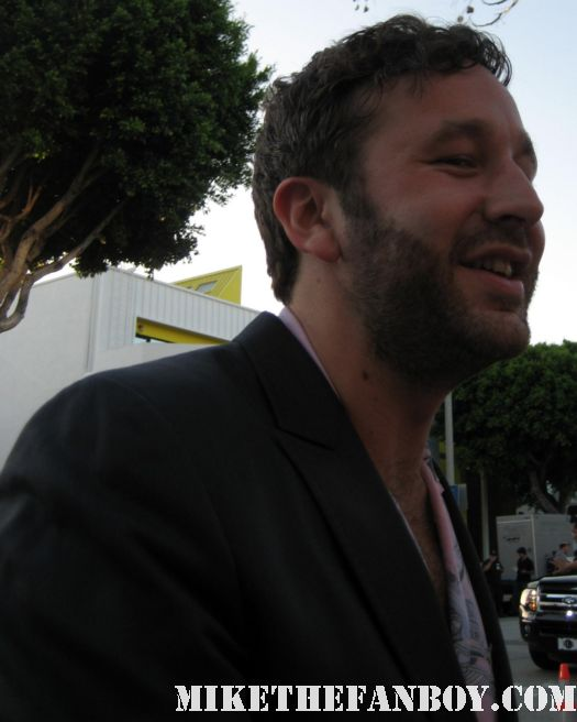 judd apatow director of knocked up and 40 year old virgin signs autographs for fans at the bridesmaids movie premiere in westwood! sexy hot rare funny quotes promo press kit one sheet movie poster rare gay rare