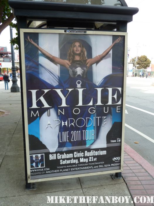 kylie minogue live in concert aphrodite tour san francisco ca may 21 2011 Bill Graham Civic Auditorium, San Francisco, CA hot sexy rare wow put your hands up sexy live photo shoot photo gallery promo rare pop up book all the lovers video shoot get outta my way picture disc magazine bill graham civic auditorium