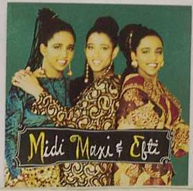 midi maxi efti rare signed autograph cd sexy ethiopian triplets swedish promo cd hot bad bad boy