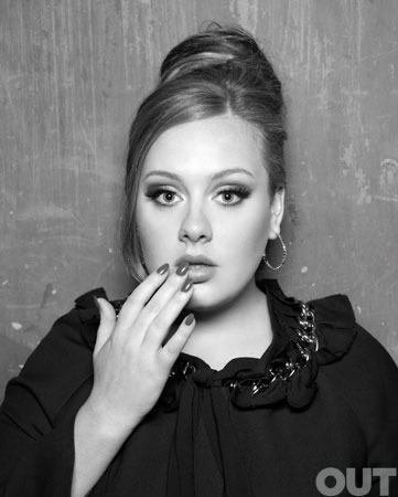 pop singer adele on the cover of out magazine june 2011 rare sexy hot promo 19 21 rolling in the deep chasing pavements rare photo shoot promo magazine cover british pop singer fiesty vinyl promo cd