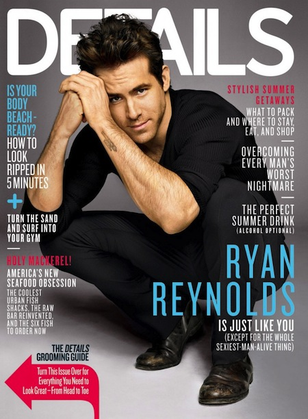 hal jordan ryan reynolds details magazine june 2011 hot sexy abs green lantern van wilder rare hot and sexy magazine cover promo