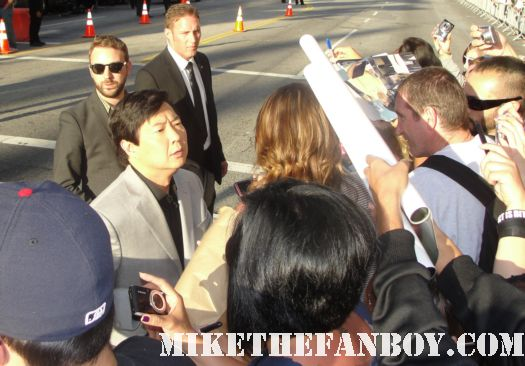 Mr. Chow Ken Jeong who also stars as Senor Chan on Community sexy-bradley-cooper-and-the-hangover-part-II-cast-sign-autographs-at-the-Hangover-part-II-movie-premiere-in hollywood-monkey