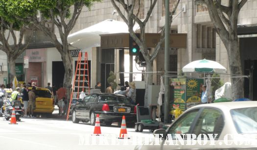weeds season 7 filming on location downtown los angeles rare mary louise parker nancy botwin rare on location promo premiere date june showtime