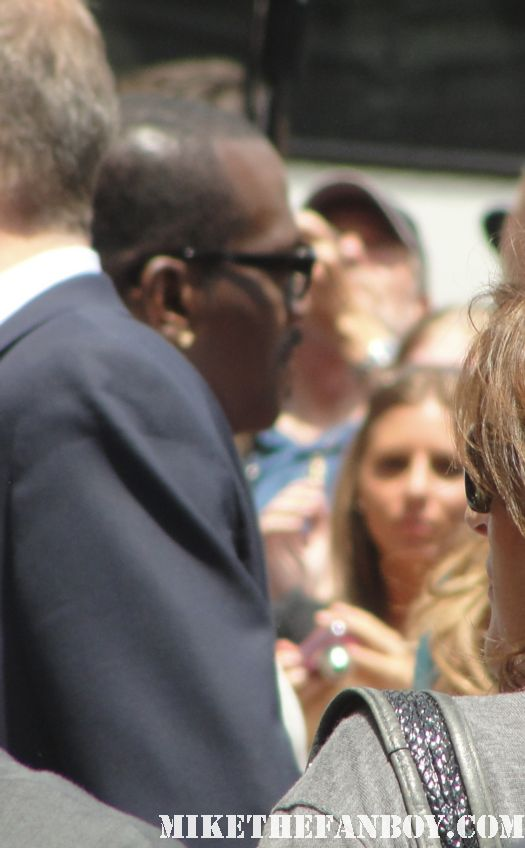 randy jackson signing autographs at simon fuller's star ceremony in hollywood rare promo jennifer lopez victoria beckham rare spice girls
