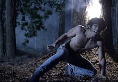 tyle posey shirtless naked teen wold rare promo hot sexy woods running jeans mtv june 2011 rare promo press still