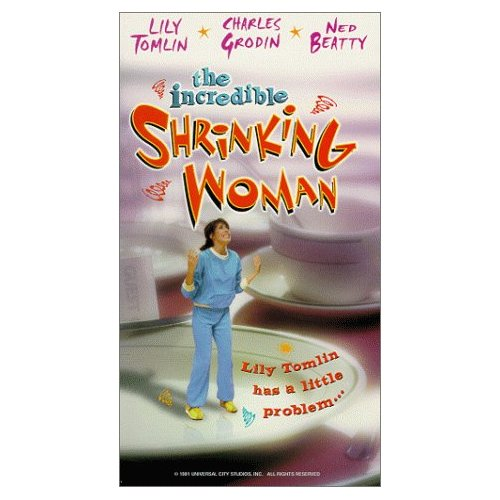 lily tomlin the incredible shrinking woman press still rare promo movie big business oversized chair rare hot 1980's icon VHS movie poster cover art promo one sheet poster dvd