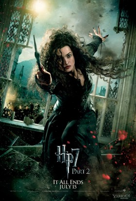 Bellatrix-Lestrange-in-Harry-Potter-and-the-Deathly-Hallows-Part-2 helena bonham carter rare promo mini poster fighting hot sexy fine promo damn fight club big fish