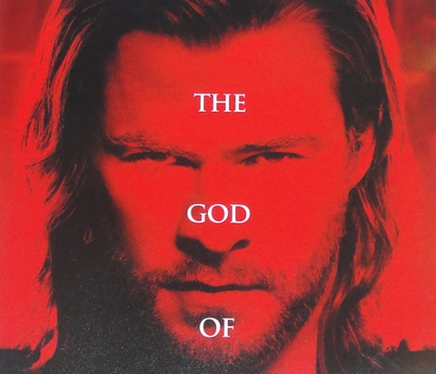rare thor hand signed promo mini poster hot sexy rare hot chris hemsworth red movie poster one sheet sexy hot muscle workout