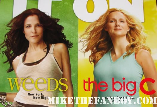 weeds and the big c rare season 7 season 2 combo poster mary louise parker, laura linney hot sexy damn fine nancy botwin bring it on