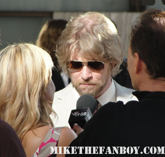 todd lowe on the red carpet for the season 4 world premiere of true blood rare promo true colors hot sexy gilmore girls signed autograph promo rare